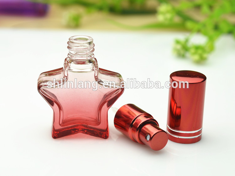 SHANGHAI LINLANG 8ml small perfume glass bottle with lid wholesale