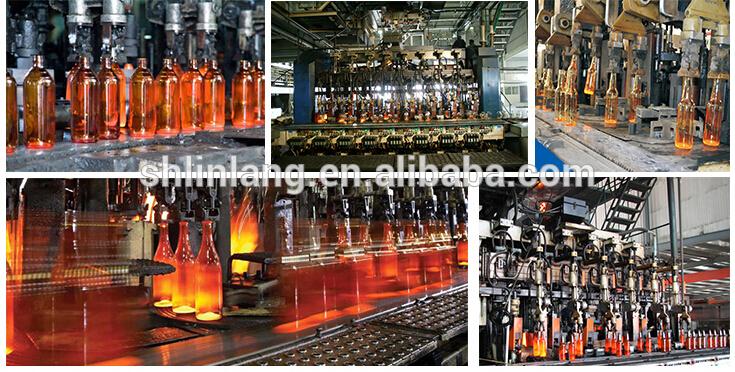 100ml 250ml 500ml 1L Thick Glass Round Media Storage Bottles Borosilicate Pyrex Glass with Blue GL45 Screw Cap