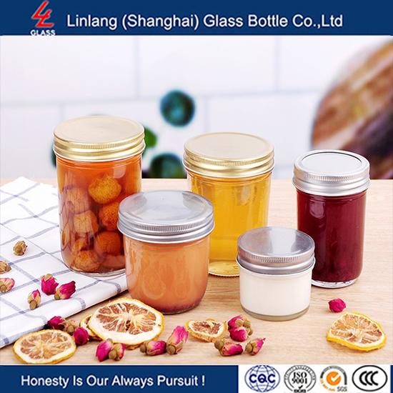 Linlang hot sale glass products 16oz mason jar