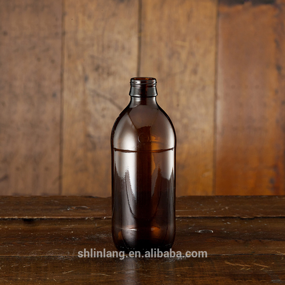 Shanghai linlang Factory Price Stubby beer bottles