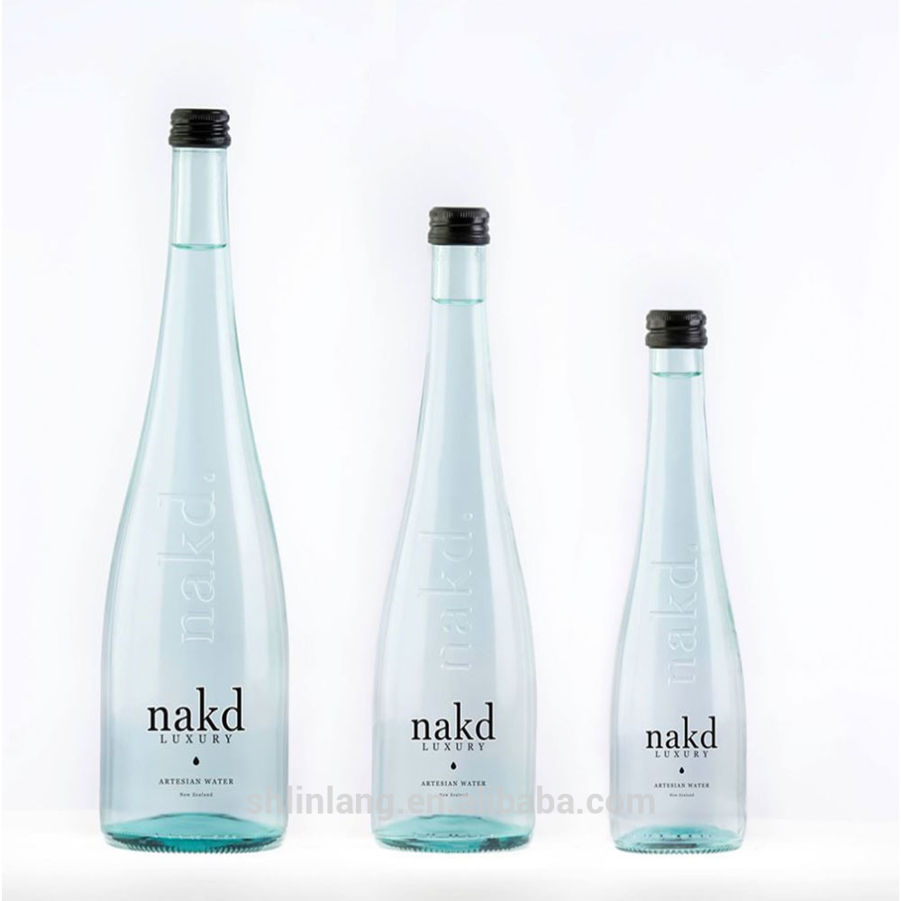 Wholesale Factory China 450ml custom made glass bottle drink bottle beverage bottle glass