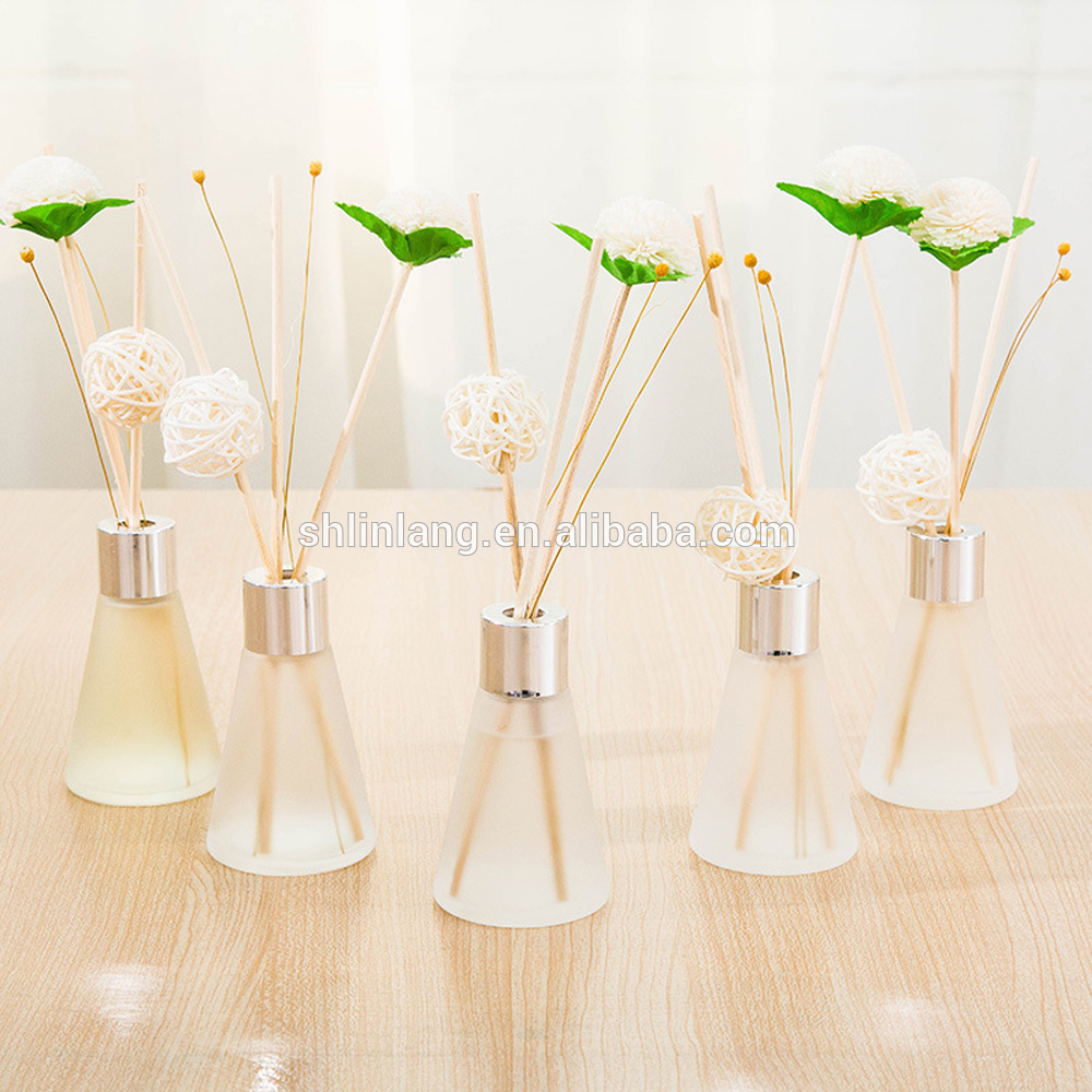 shanghai linlang rectangle glass room diffuser bottle Wholesale