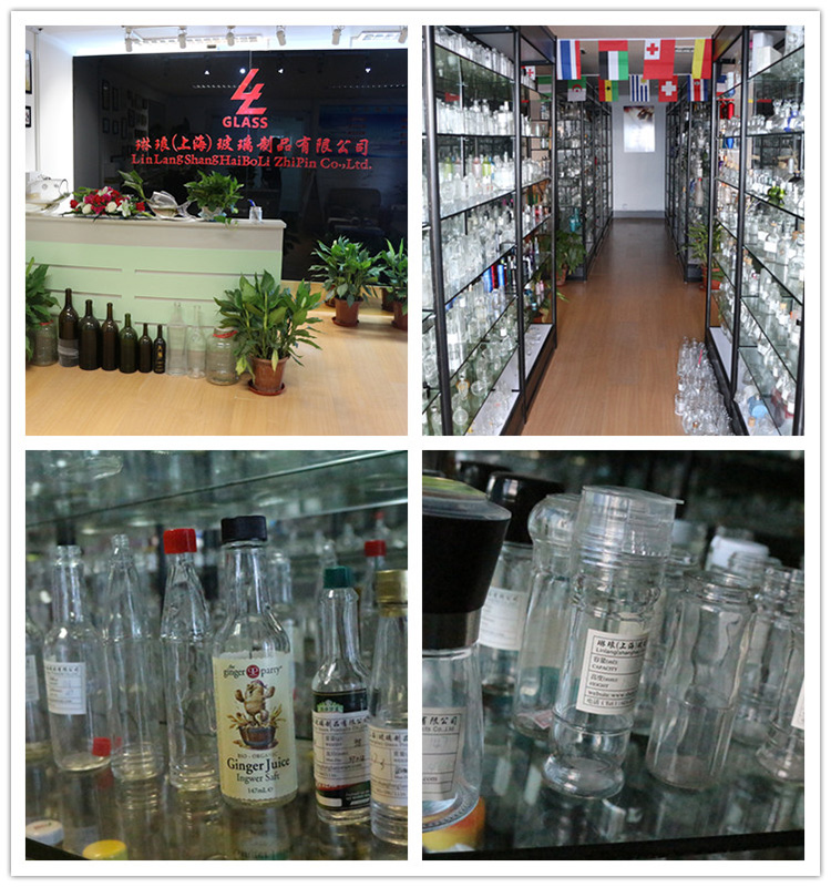 Linlang hot welcomed glass products 100ml sauce bottle glass bottle