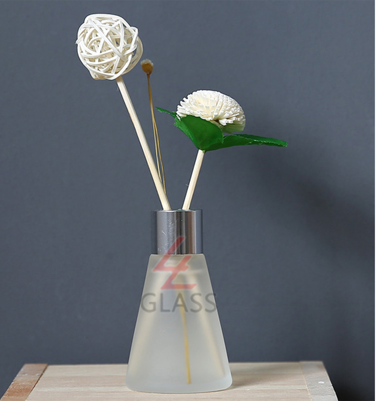 shanghai linlang Tower Look Diffuser Perfume Glass Bottle Wholesale