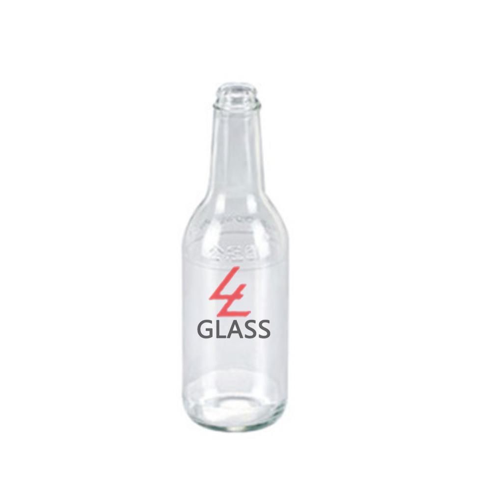 China manufacture custom made wholesale glass fruit huice bottle beverage bottle drink bottle with 200ml 250ml 500ml