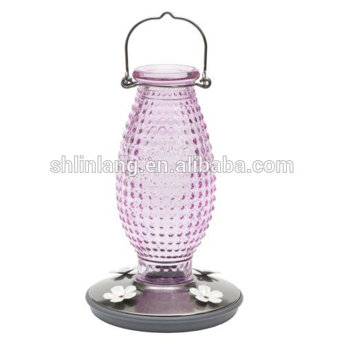 Bird bowls & feeders automatic feeder for pigeon cups & pails,bowls glass humming bird feeder automatic bird glass feeder