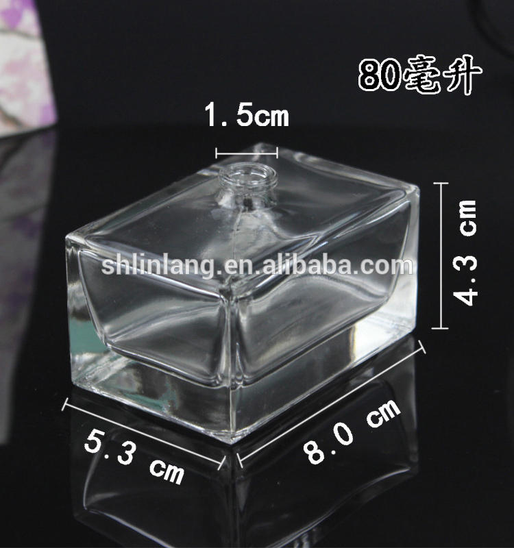 shanghai linlang glass perfume bottle