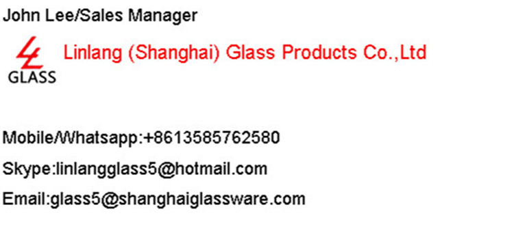 Linlang hot sale colored glass bottle
