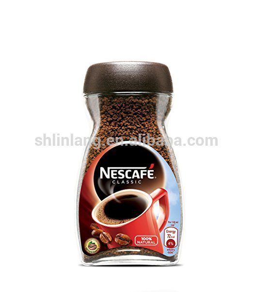 Shanghai wholesale 250ml 7ounce clasico coffee mate bottle, glass coffee bottle