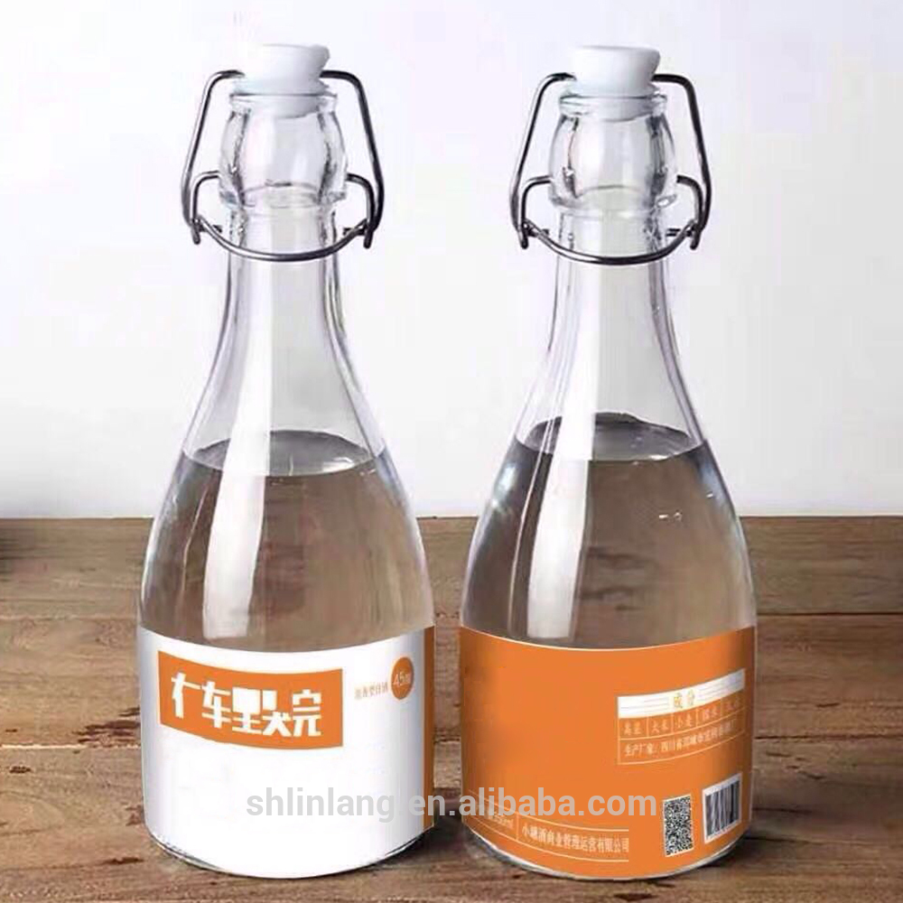 Shanghai linlang Wholesale Cute Mould Mini Beer Bottle