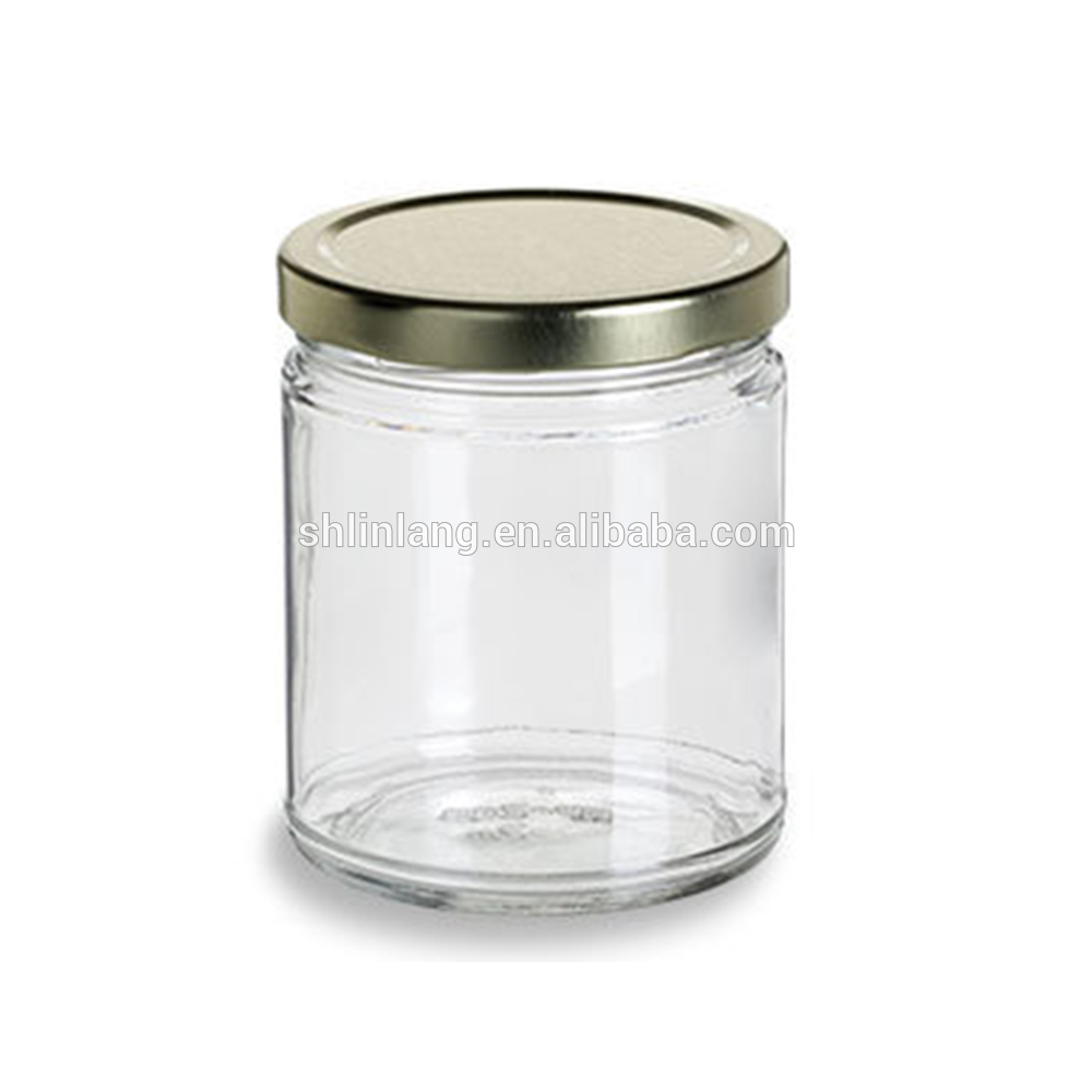 Linlang hot welcomed glass products jam glass jar with lid