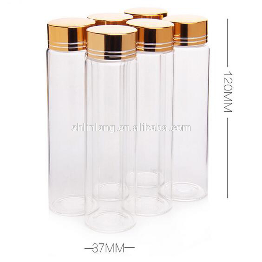 China manufacture wholesale glass bottle for health food nutritional glass bottle