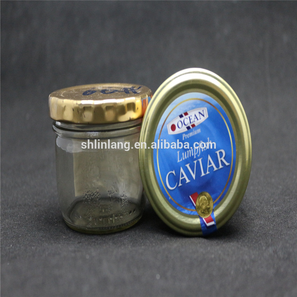 Linlang welcomed glassware products caviar jar