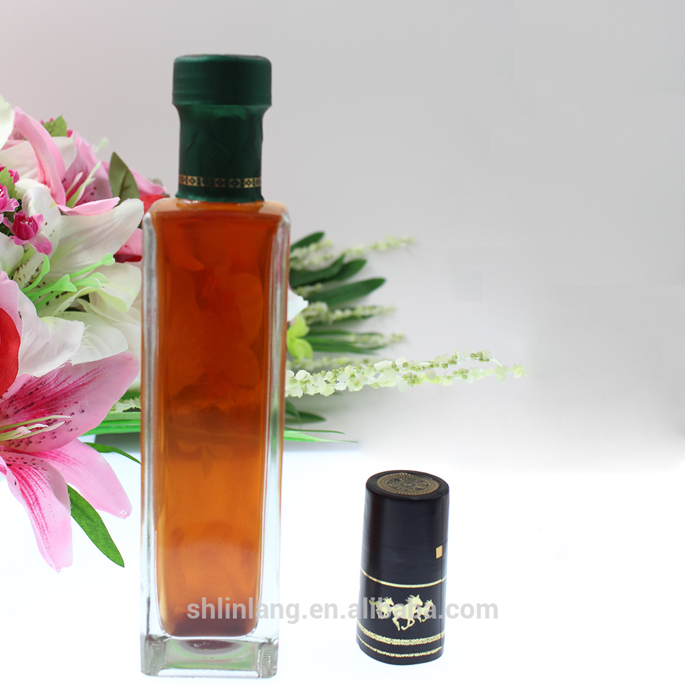 Shanghai linlang wholesale good quality mini olive oil bottle