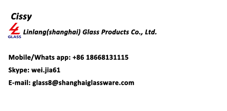 Shanghai linlang manufacture factory price 50ml glass olive oil bottle
