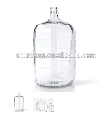 China Suppliers 6.5 gallon 6 gallon 3 gallon large glass jar 5 gallon round glass carboy