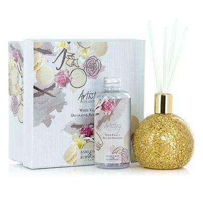 Ashleigh Burwood New Mosaic Reed Diffuser Bottle Glass Gift