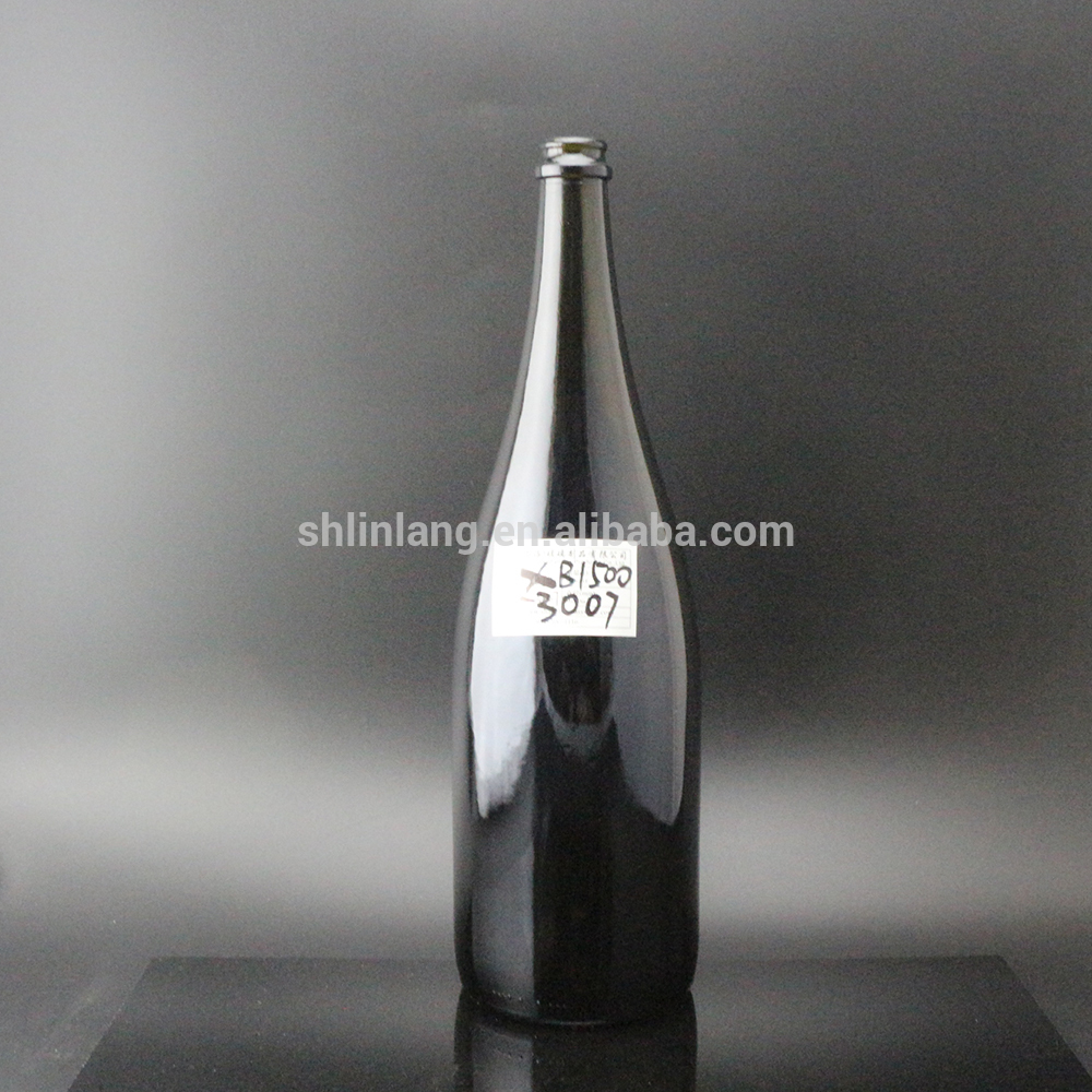 Shanghai Linlang Wholesale 1500ml heavy Champagne glass bottle