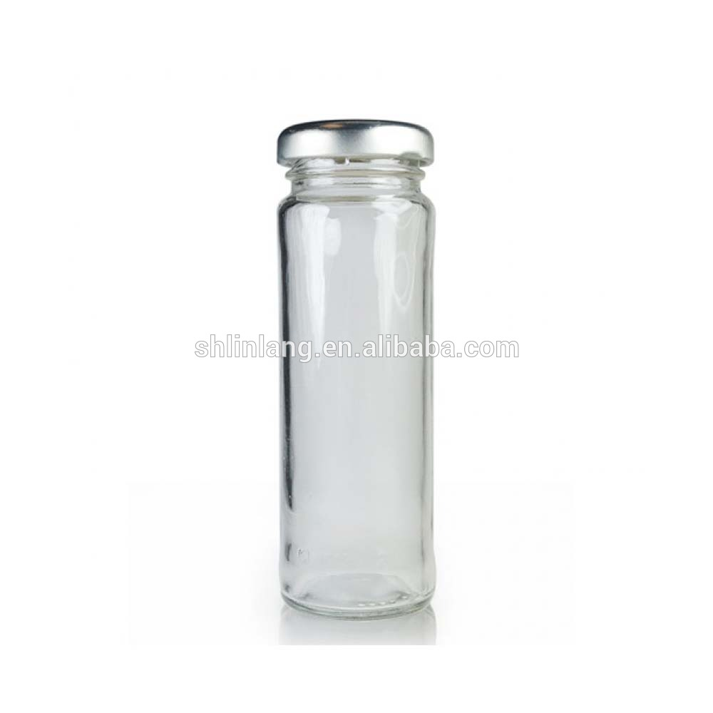 Linlang shanghai factory glassware products 100ml glass spice jar