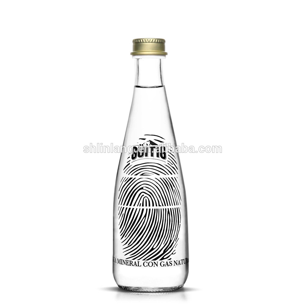 Linlang hot sale mineral water in glass bottle