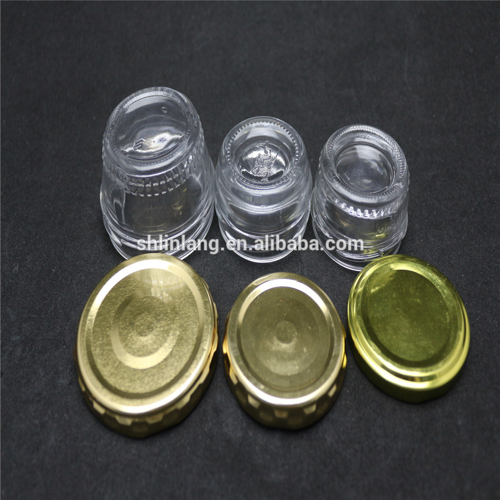 30g 50g 1 oz small glass jars with screw lids