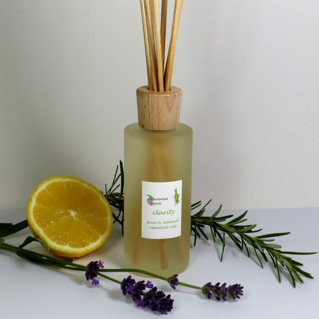 100ml Cylindrical Frosted Reed Diffuser Bottle With Wooden Over Cap Great for Reed Diffusers