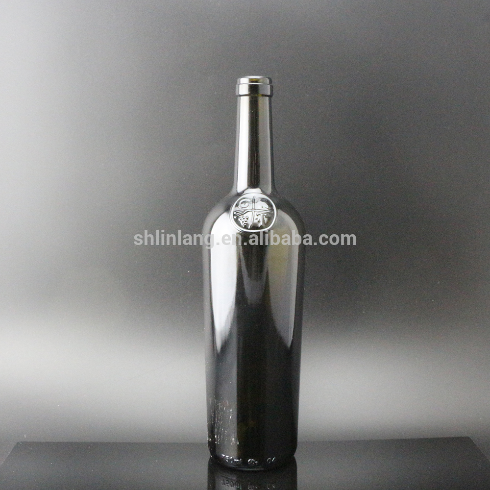 Shanghai Linlang Wholesale big heavy weight empty wine bottle
