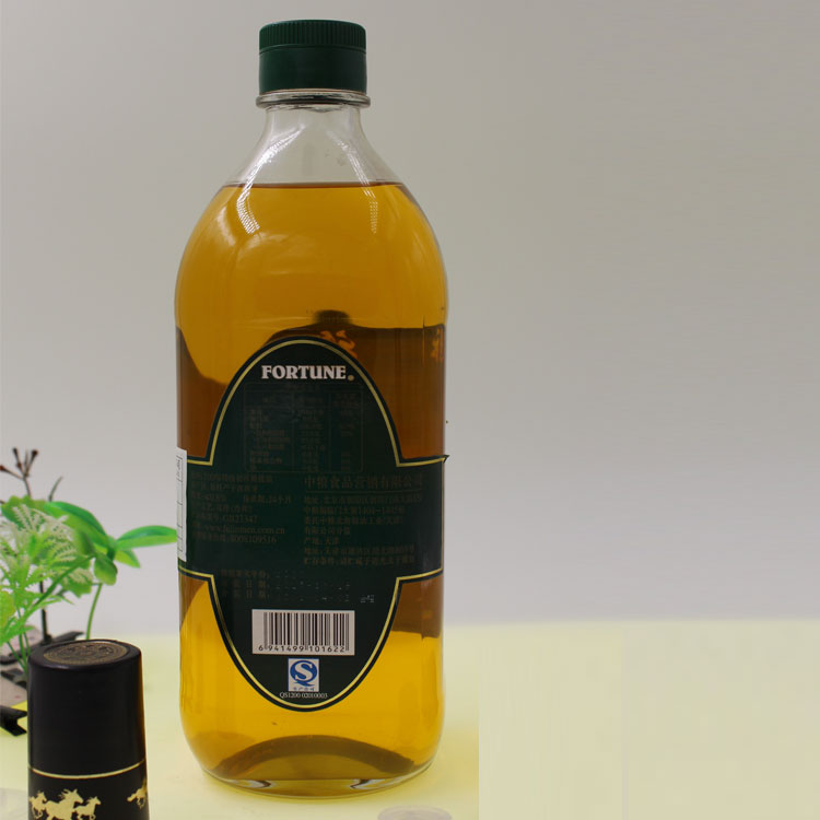 Olive Transparent 500ml 1000ml Oil Glass Bottle Container Featured Image