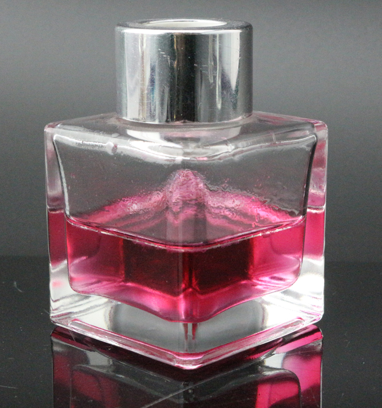 Square Reed Diffuser Oil Glass Bottle