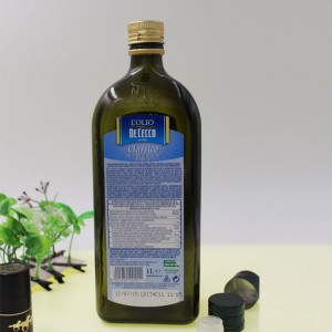 Wholesale 750ml Container Cylindrical Glass Olive Oil Bottle