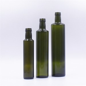 Wholesale Green Dorica For Olive Oil Glass Bottle Empty Bottle