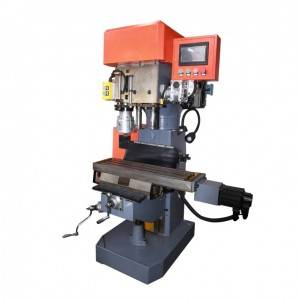 Fertikale Trije Spindle Drilling Tapping Machine