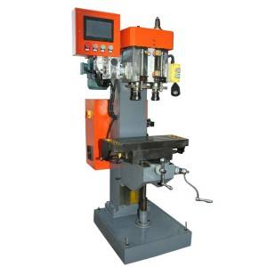Dual Spindle Servo Control Drilling Tapping Machine(Tooth Sleeve Tapping)