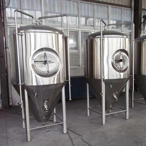200L-4000L Craft Beer Fermentasiya Tank XHY-8009
