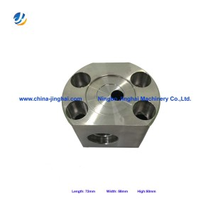 CNC Milling parts with stainless steel