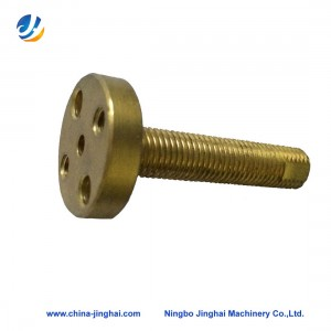 Cnc brass lathe turning part-Screw