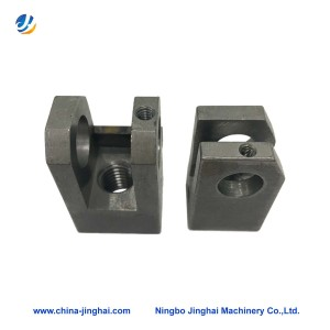 China OEM Cnc Machining Grinding Machine Parts - Milling steel parts – Jinghai