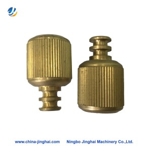 Wholesale Price Odm Milling Part - Cnc brass lathe turning part-Screw – Jinghai