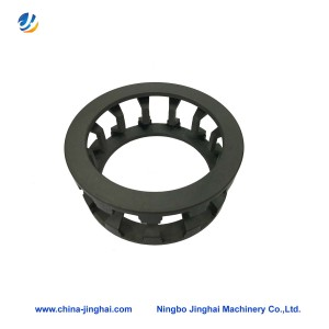OEM Manufacturer Scooter Plastic Body Parts - Milling steel parts – Jinghai