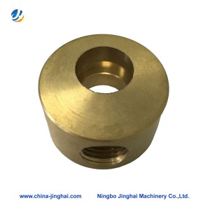 Cnc brass lathe turning part