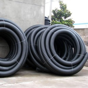 HDPE carbon spiral tube