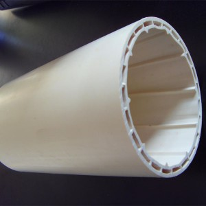 PVC-U hollow silencing spiral pipe