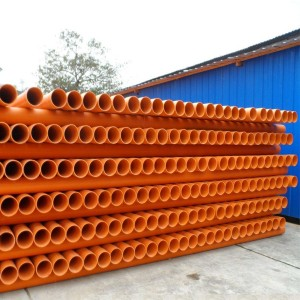 PVC-C power cable pipe