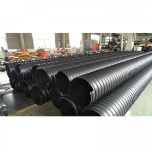 HDPE steel belt reinforced spiral bellows