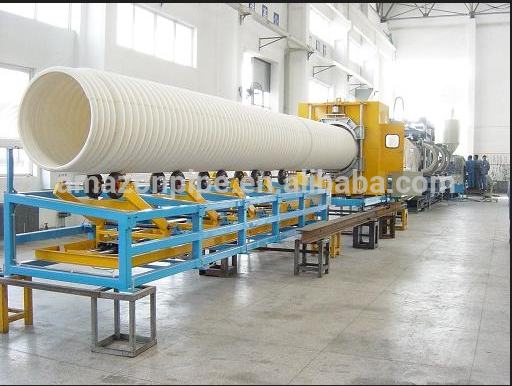110mm U-PVC corrugated pipe PVC waste water drainage piping system