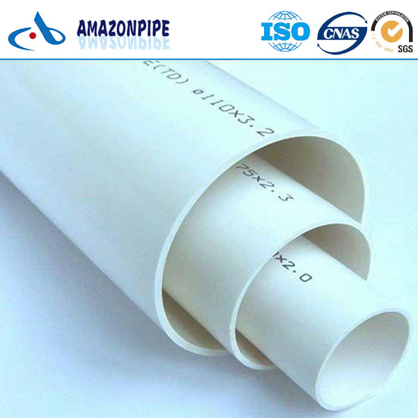 China Diameter Besar Upvc Saliran Pipe