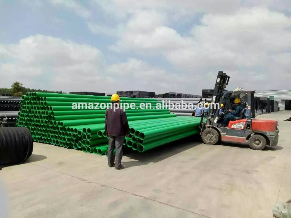 High Definition Corrugated Hdpe Pipe Water Well Casing