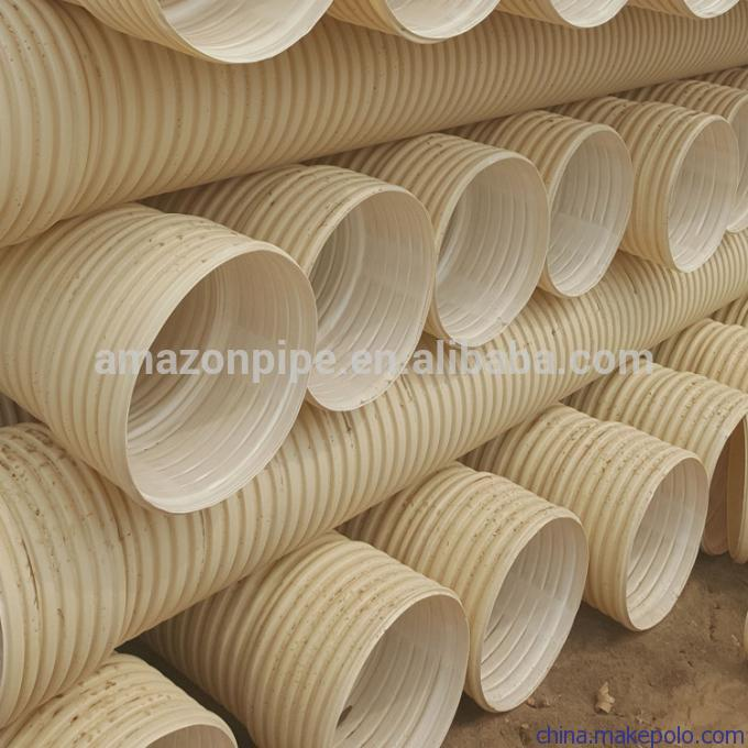 Low Weight Plastic Piping Underground PUC Drainage and Sewage Piping