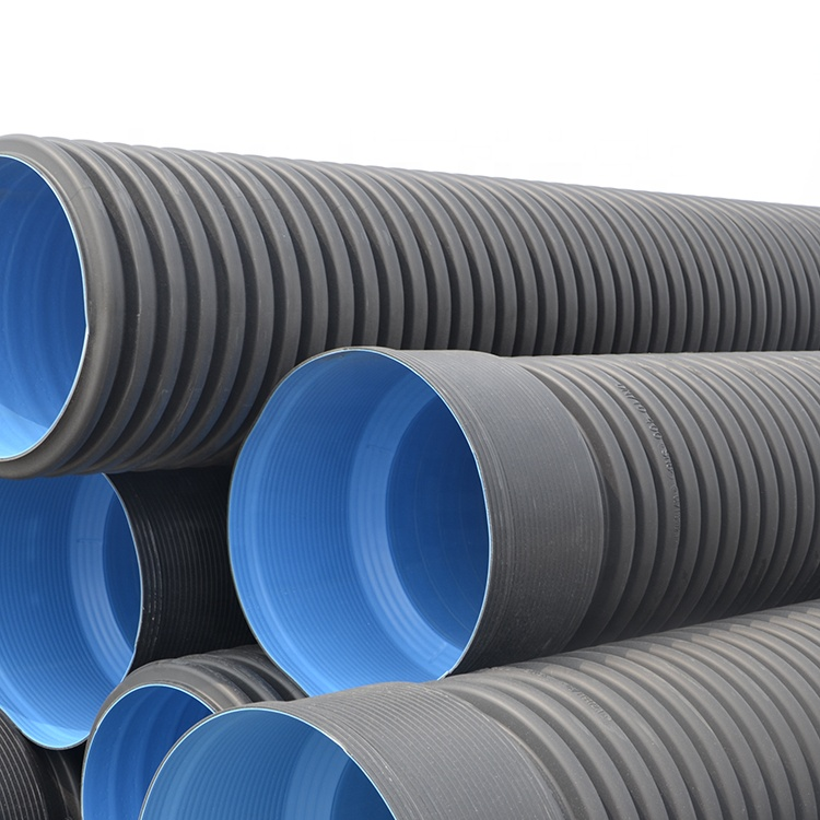 "High reputation Oil And Gas Pipeline Construction - hdpe pipe 2"" corrugated  drainage pipe – Baishitong factory and suppliers 