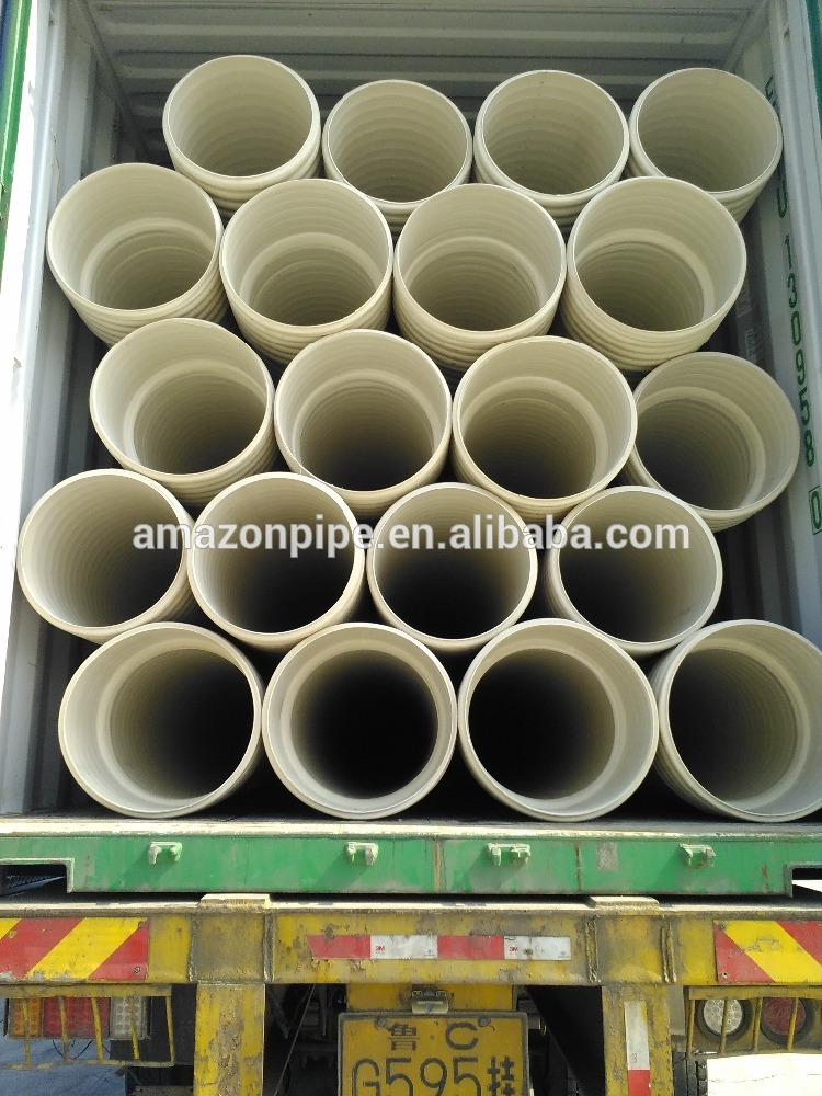 Full size pvc plastic pipe 150mm 200mm upvc pipe for water